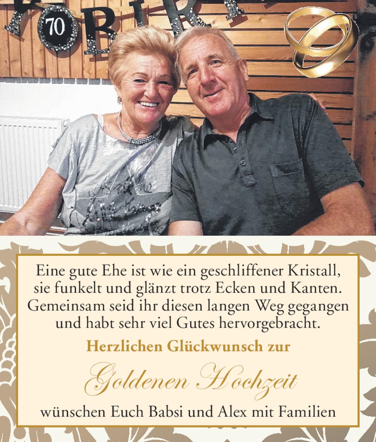 Herzlichkeit von Eine gute Ehe vom 24.10.2019 | Tiroler