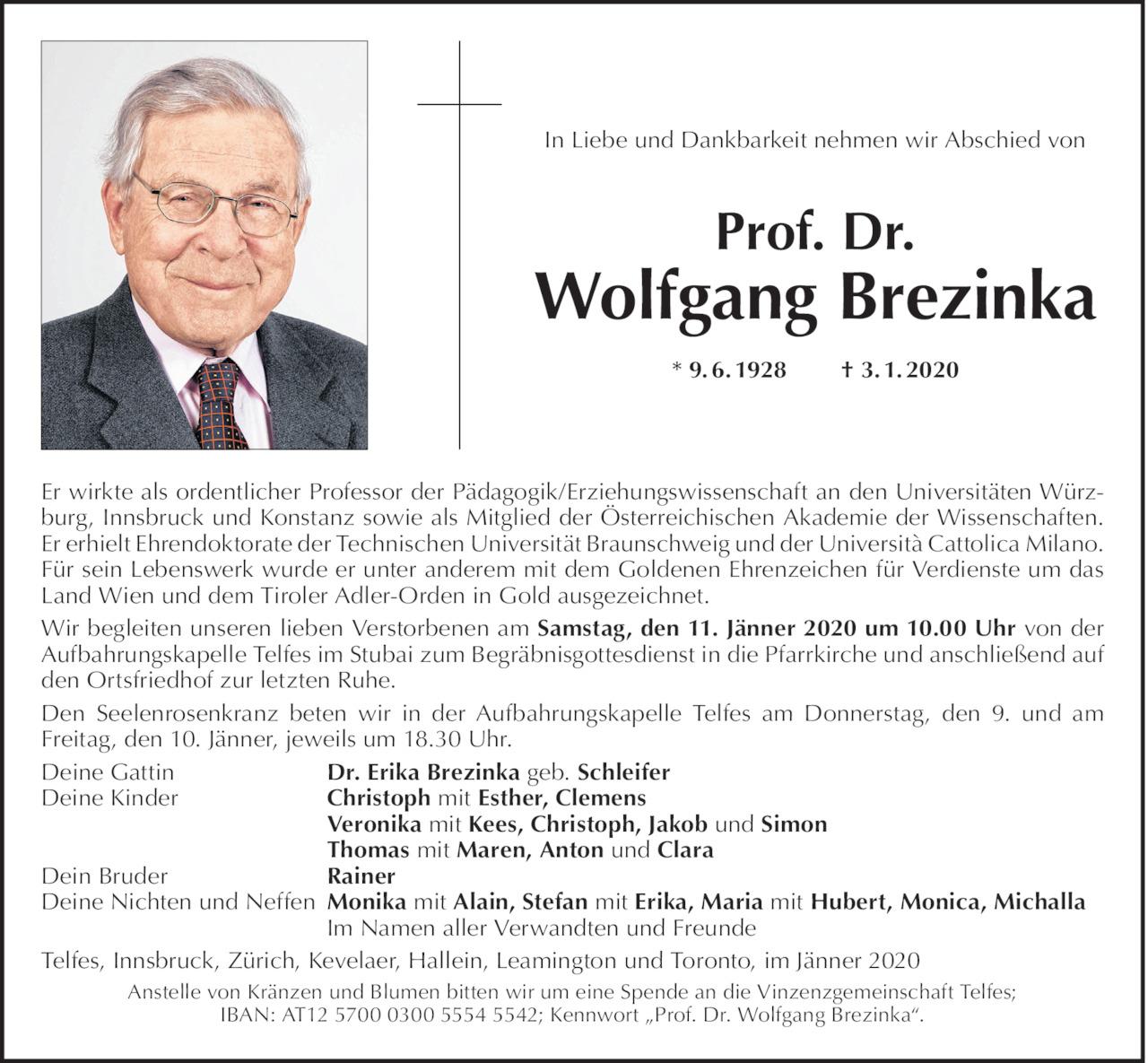 Wolfgang Brezinka Bild