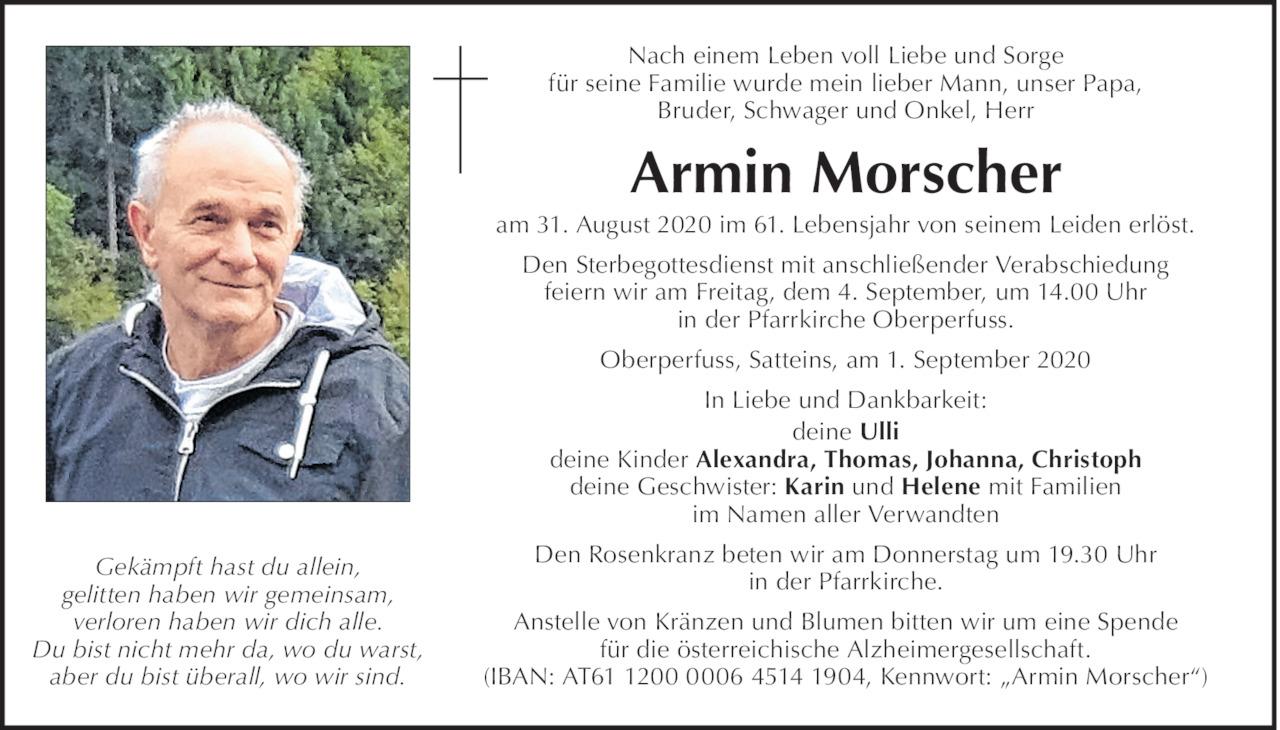 Armin Morscher  Bild