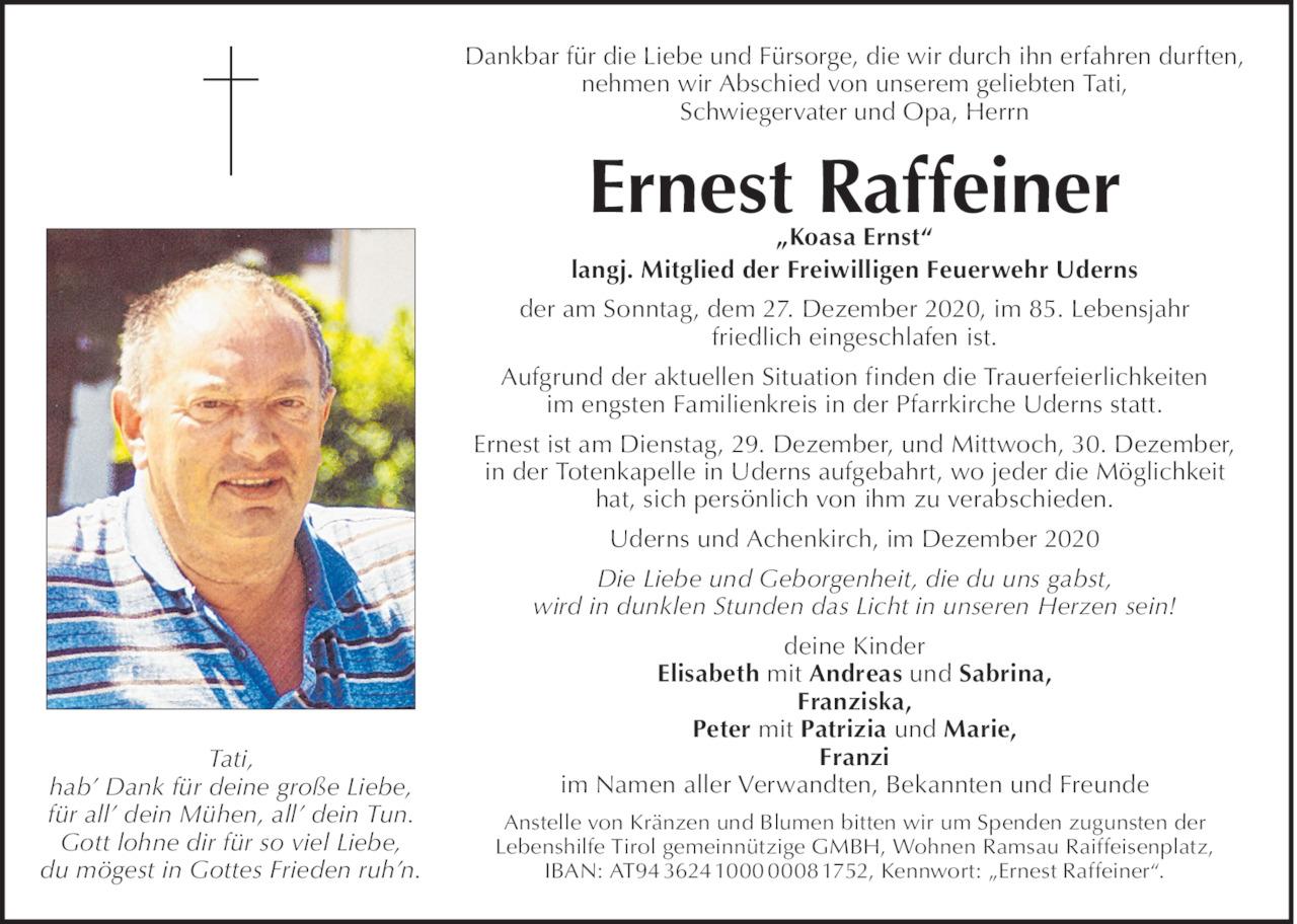Ernest Raffeiner Bild