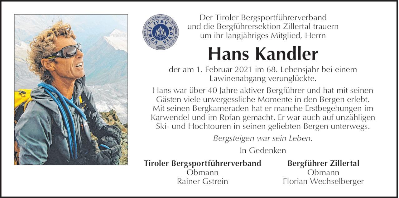 Hans Kandler Bild